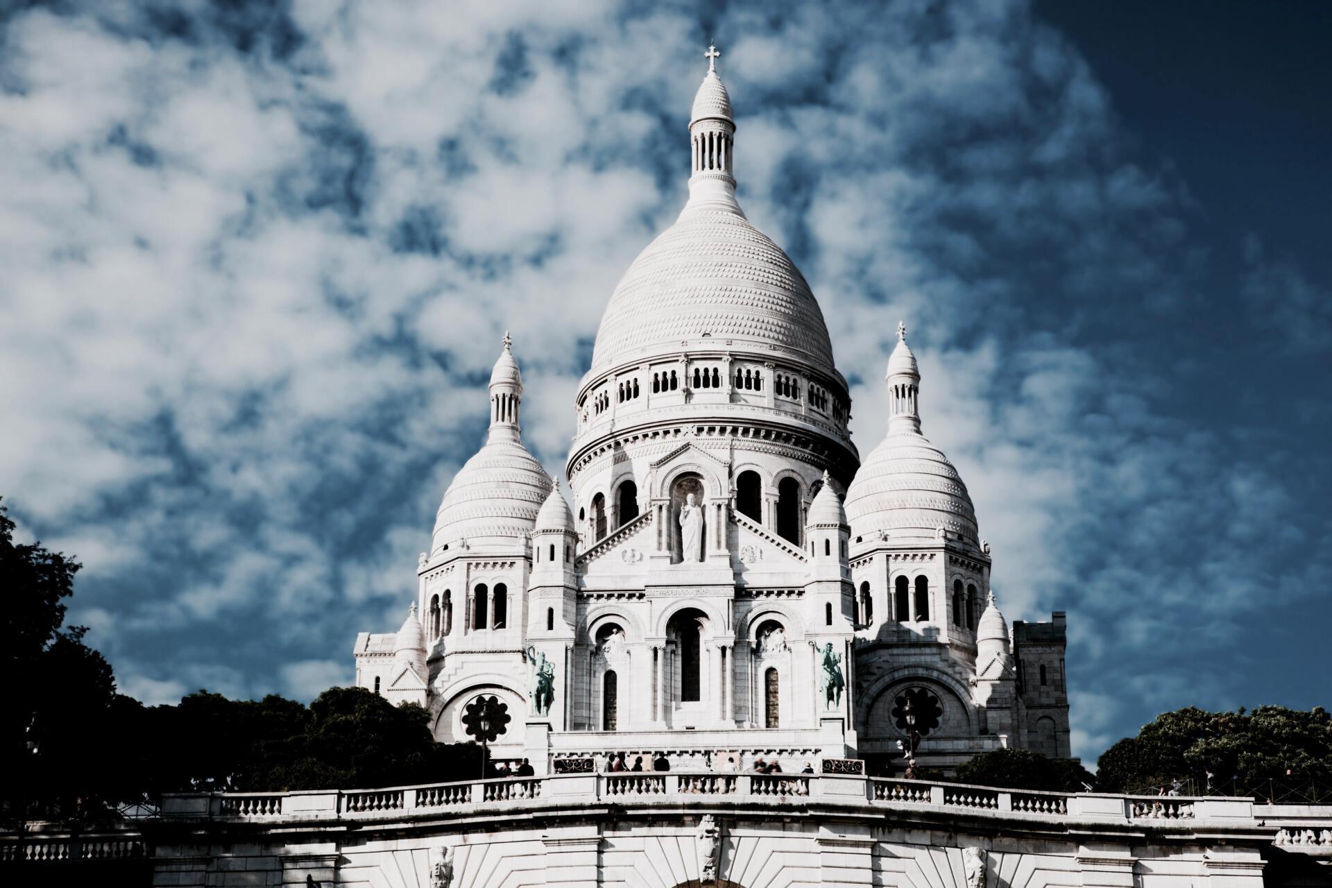 Sacre-Coeur Basilica on Montmartre, Paris, France