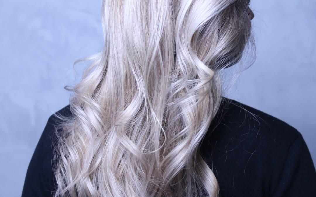 Ich möchte wieder blond werden!